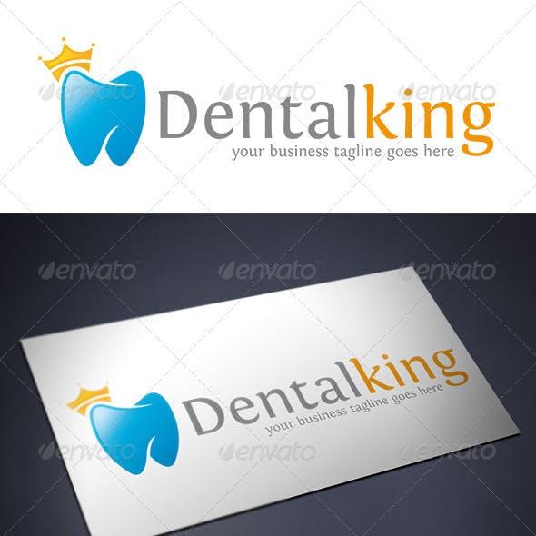 Dental King Logo Template