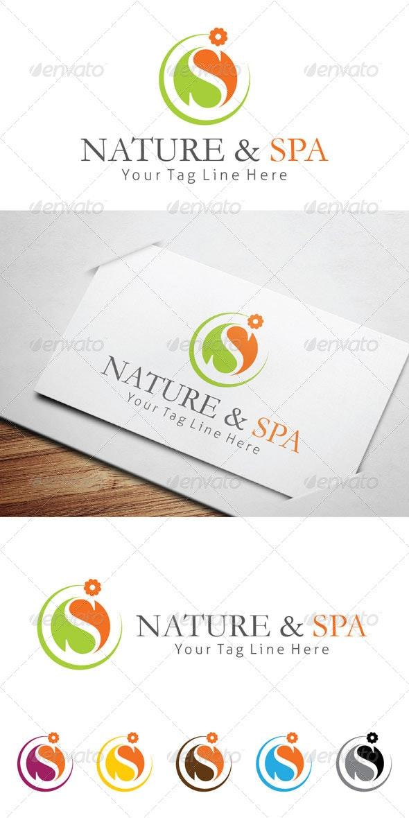 Nature & Spa Logo Templates - Logo Templates