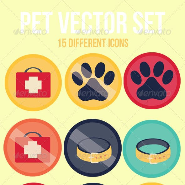 Pet Icon Set