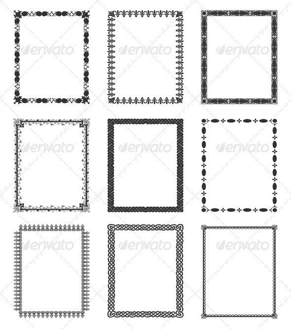 Framework - Borders Decorative