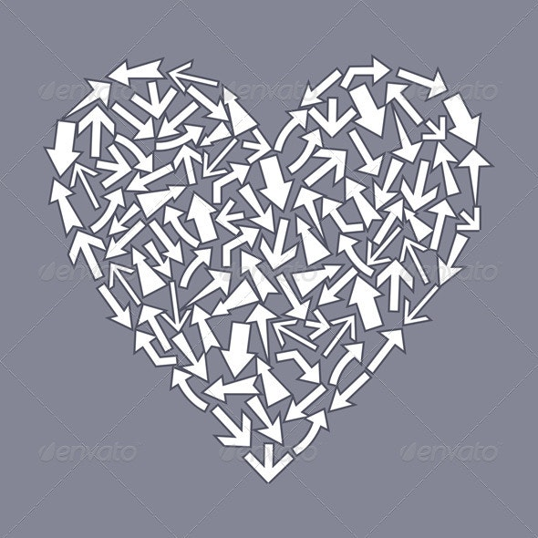 Heart from arrows2 - Valentines Seasons/Holidays