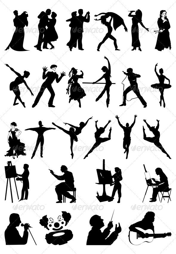 People art - People Characters