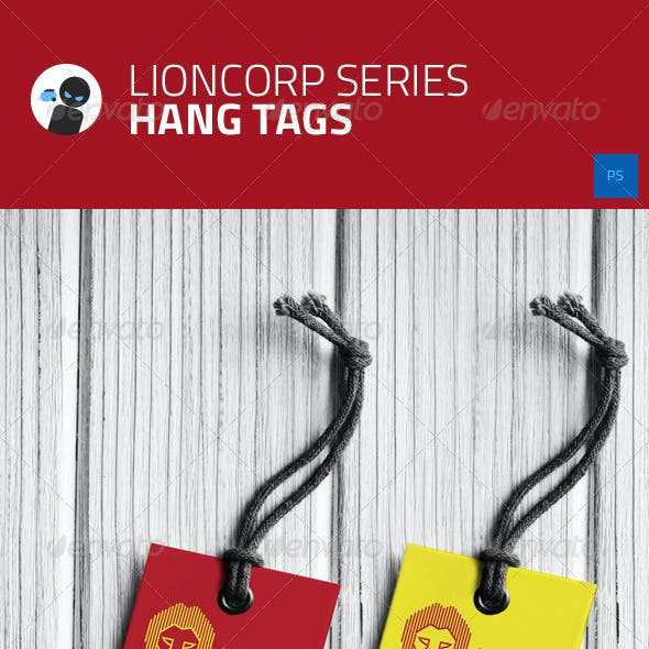 Lioncorp Series - Hang Tags