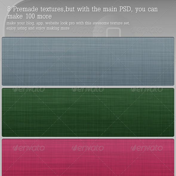 Fabric Texture Unlimited Set (PSD+PNG+JPG)