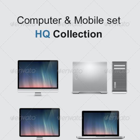 Computer & Mobile Set