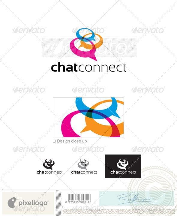 Chat logo Logo-2380 - Vector Abstract