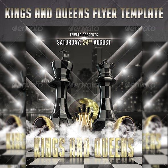 Kings & Queens Flyer Template