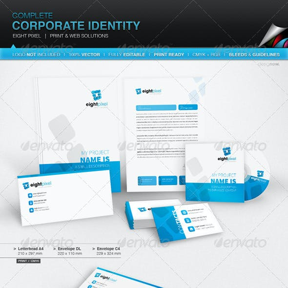 Corporate Identity - Eight Pixel