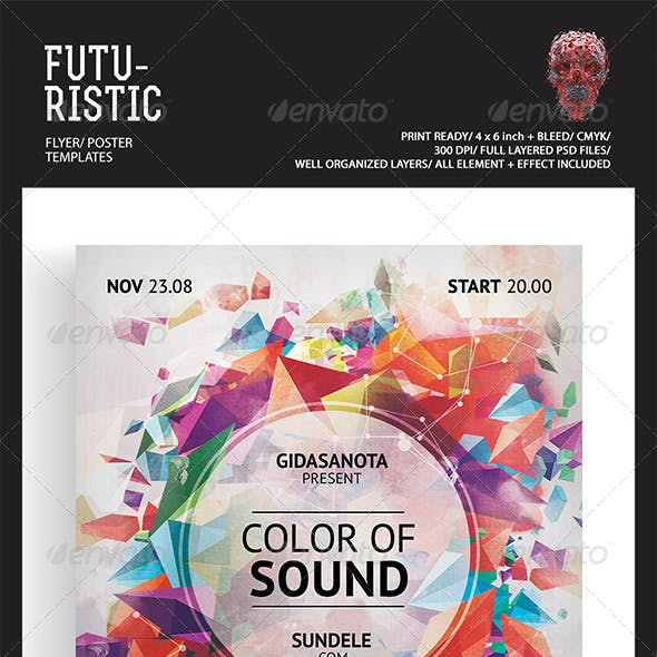Futuristic Flyer Templates