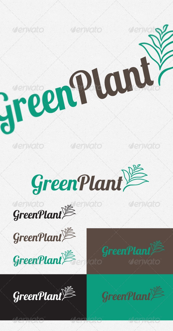 GreenPlant - Logo Templates