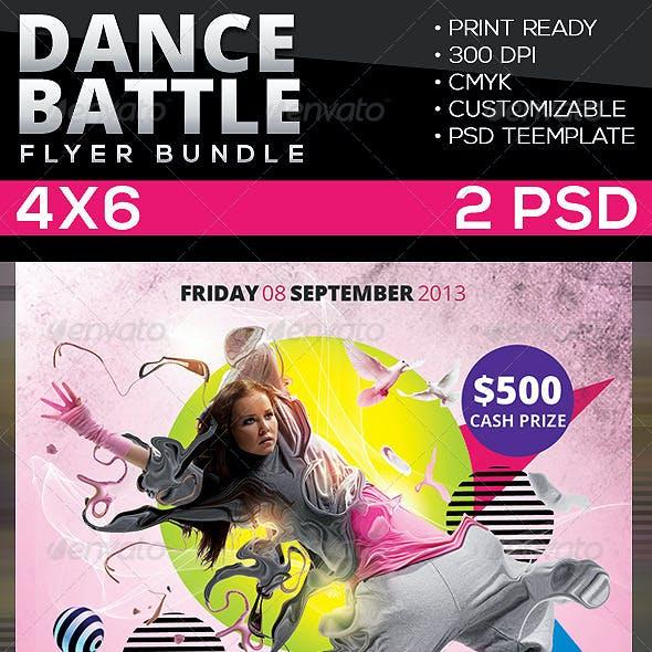 Dance Battle Flyer Bundle