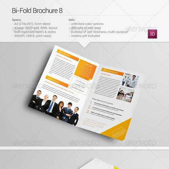Bi-Fold Brochure 8