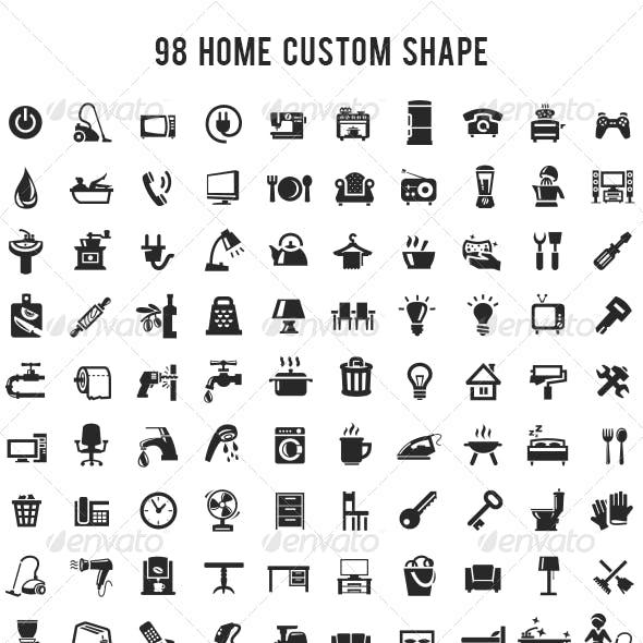 98 Home Custom Shape