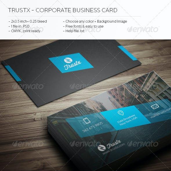 Trustx - Corporate Business Card