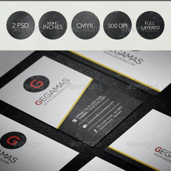 Creative Business Card 040