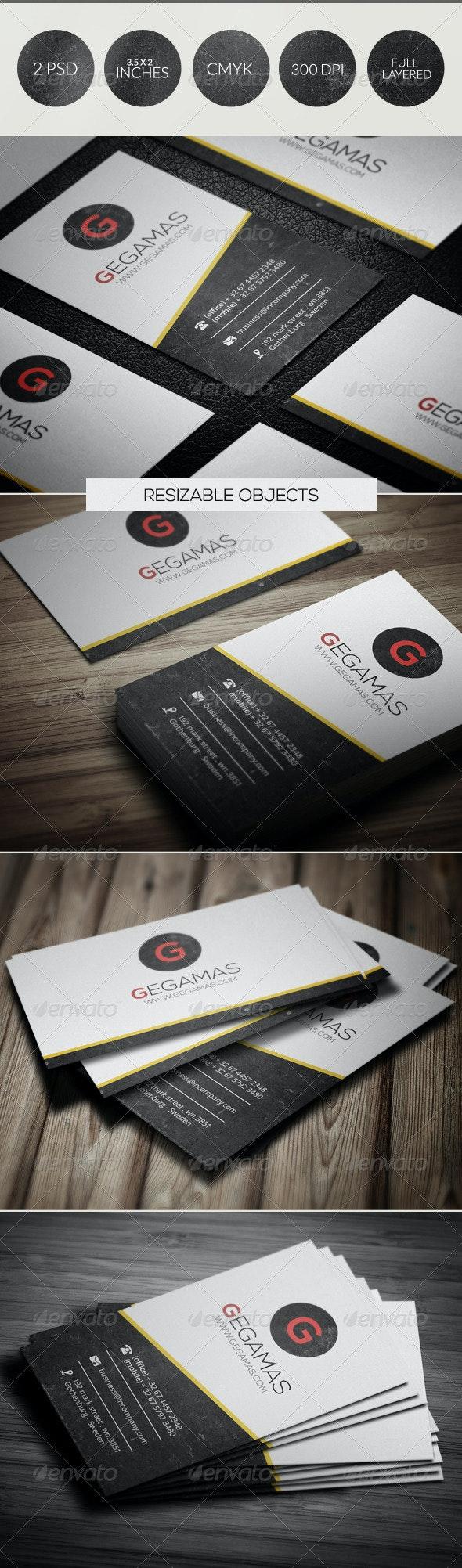 Creative Business Card 040 - Creative Business Cards
