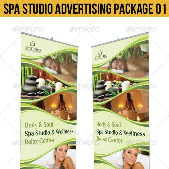 Spa Studio Advertising Package 01