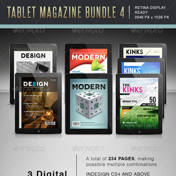 Tablet MGZ Bundle 4