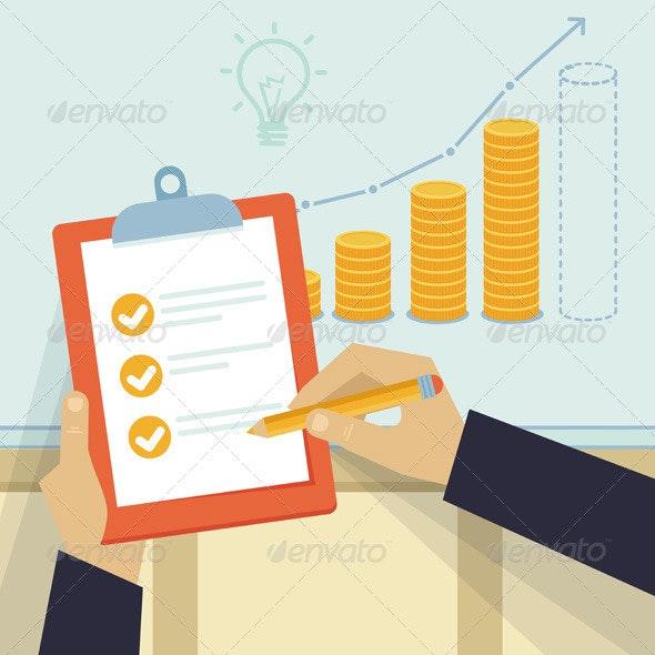 Vector Financial Business Plan  - Business Conceptual