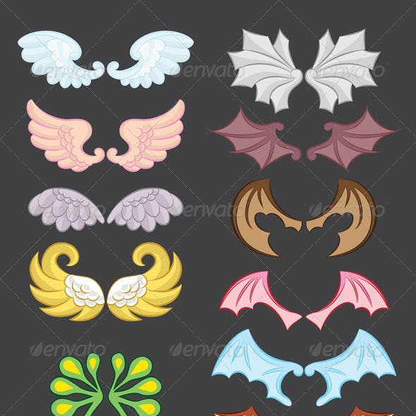 Dragon Wings Graphics Designs Templates From Graphicriver