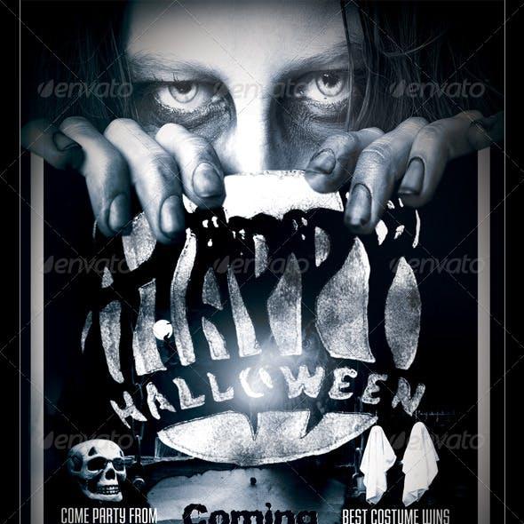 Halloween Flyer/Poster Template