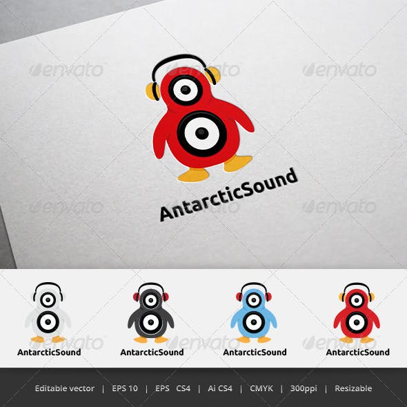 Antarctic Sound Logo