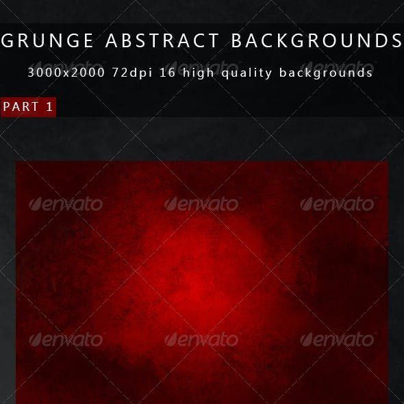 Grunge Abstract Backgrounds 2in1