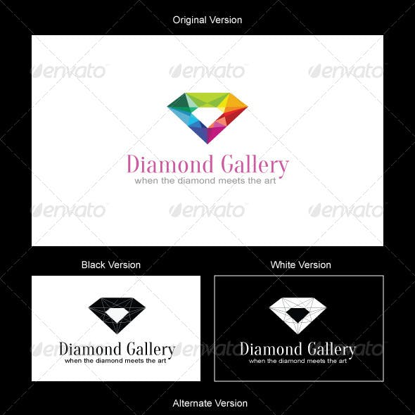 Diamond Gallery Logo Design