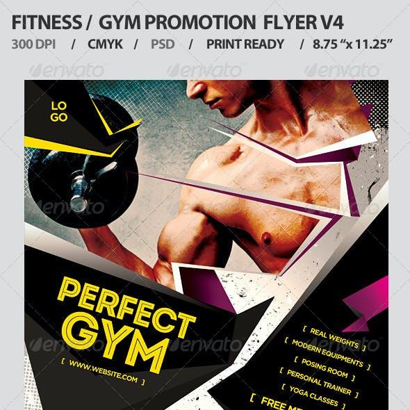 Fitness/Gym Business Promotion Flyer V4