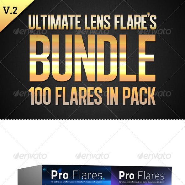Ultimate Lens Flares Bundle V2
