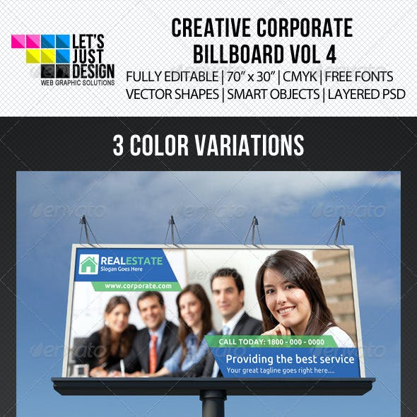 Creative Corporate Billboard Vol 4