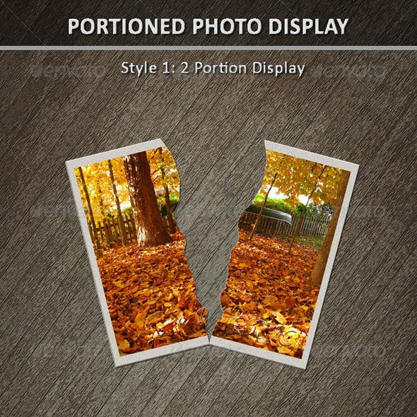 Portioned Photo Display