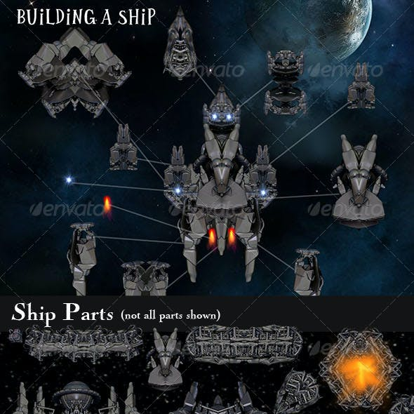 2D Ship Builder Pack
