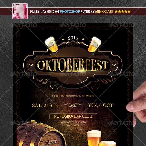 Oktoberfest Poster/Flyer
