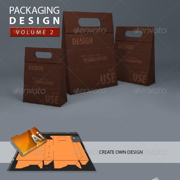 3D Paper Bag Mock-Up