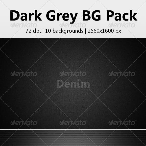 Dark Grey Background Pack