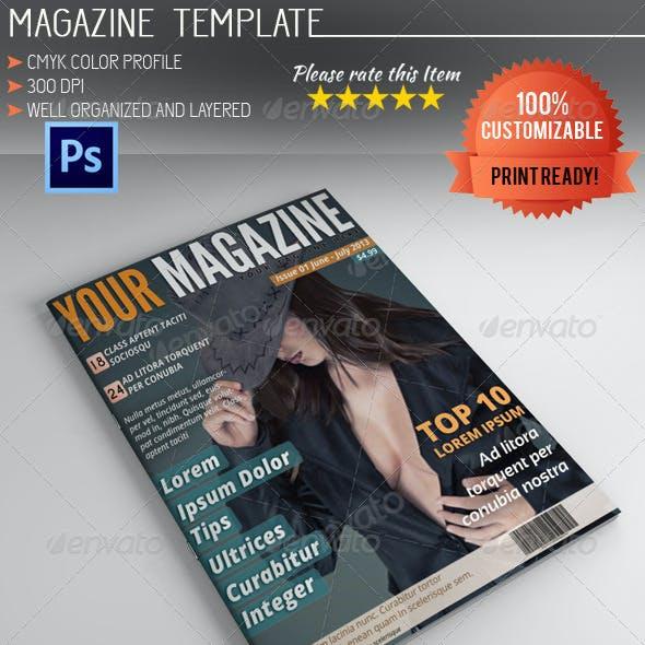 Magazine Template Vol.6