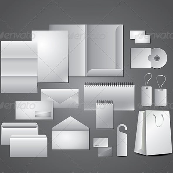 Stationery Design for Corporate Templates