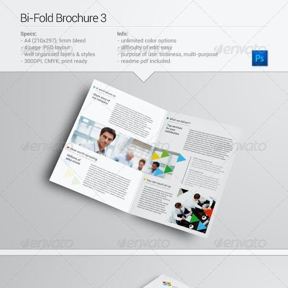 Bi-Fold Brochure 3