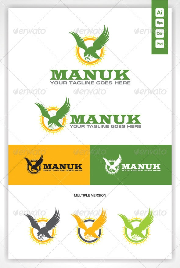 Eagle Bird Manuk Logo