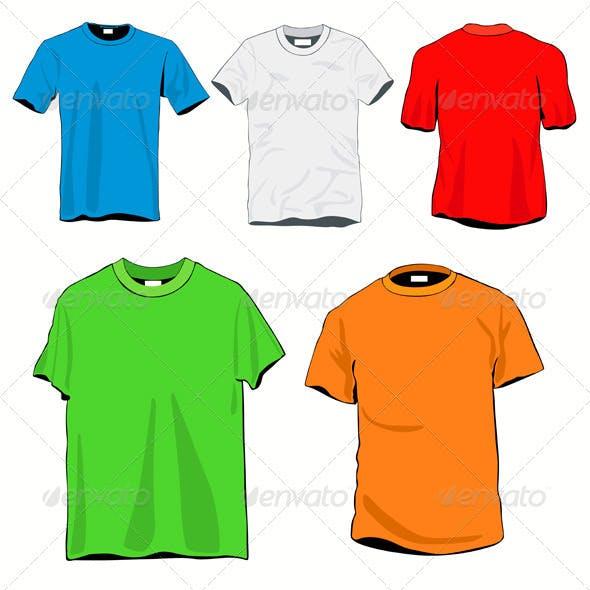 T-shirts Template Set