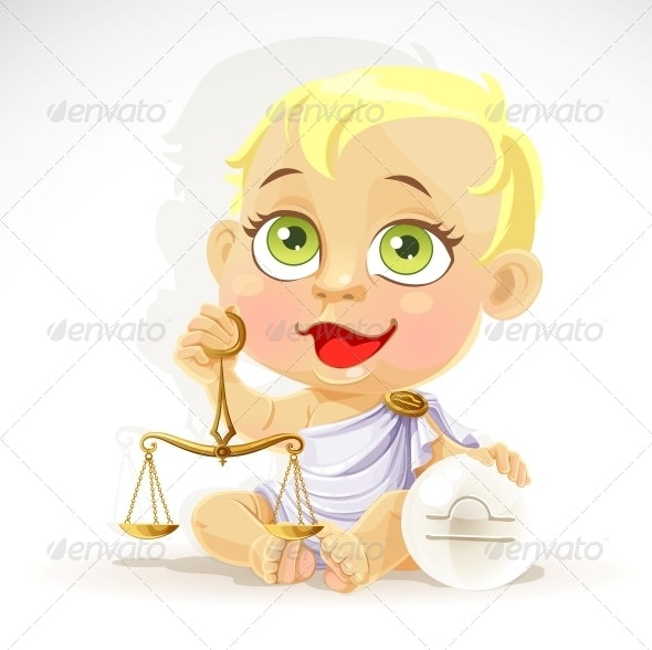 Baby Zodiac Libra Sign - People Characters