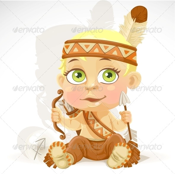 Baby Zodiac - Sign Sagittarius - People Characters