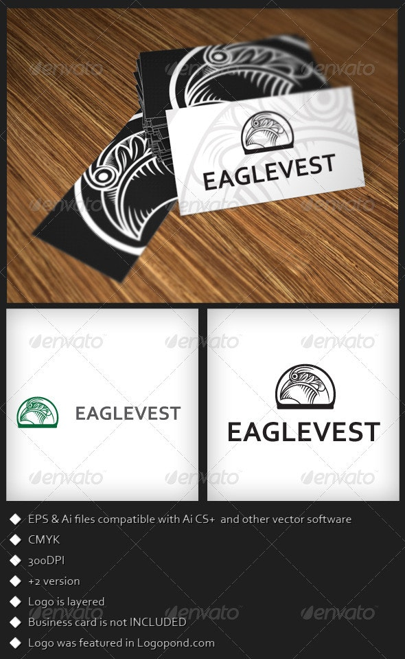 EagleVest Logo Template - Animals Logo Templates