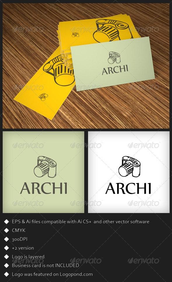 Archi Photography Logo Template - Symbols Logo Templates