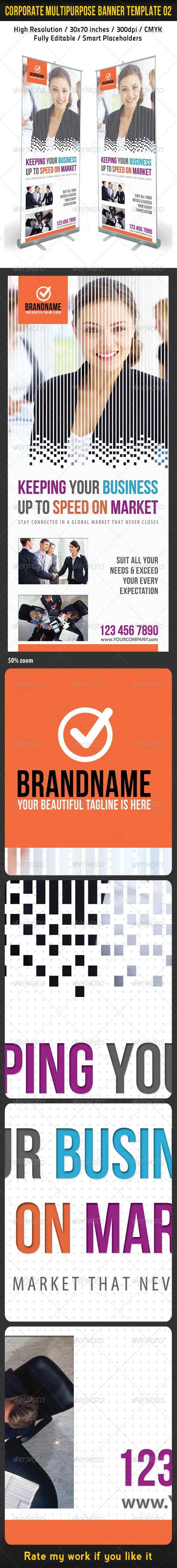 Corporate Multipurpose Banner Template 02