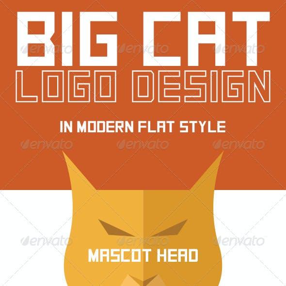 Big Cat Logo Design