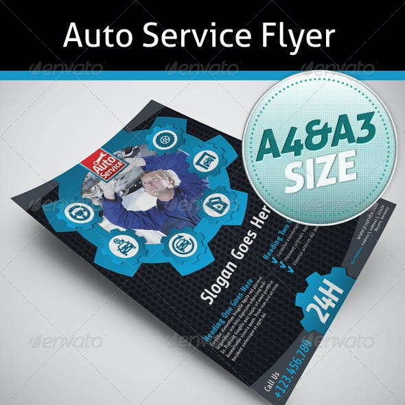 Auto Service Flyer