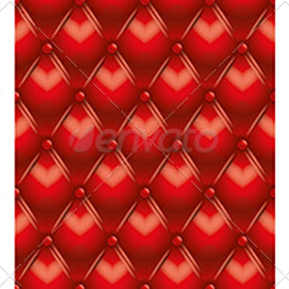 Tufted Leather Seamless Texture