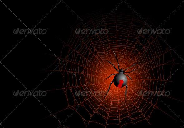 Spider web - Halloween Seasons/Holidays